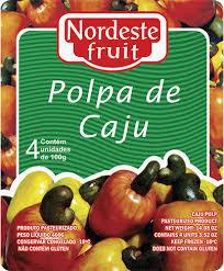 Polpa de Caju - Nordeste Fruit - 400g