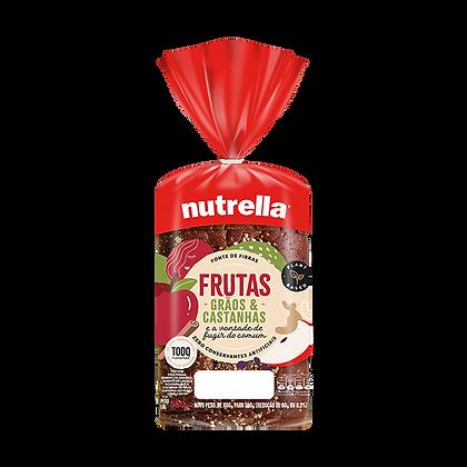 Pão de Forma - Frutas, grãos e castanhas - Nutrella - 550g