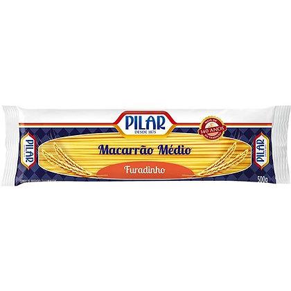 Macarrão Médio Furadinho - Pilar - 500g