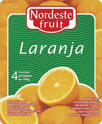 Polpa de Laranja - Nordeste Fruit - 400g