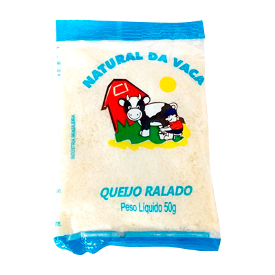Queijo Ralado - Natural da Vaca - 50g