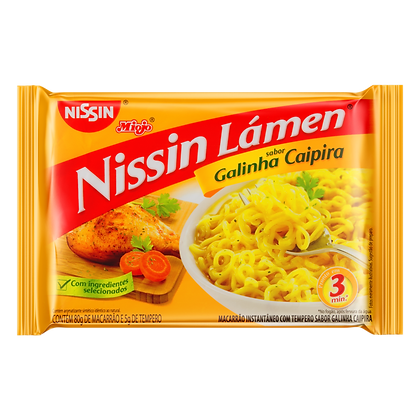 Macarrão instantâneo - Nissin Lámen - 90g
