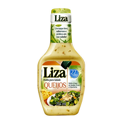 Molho p/ Salada Queijos - Liza - 234ml