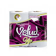 Papel higiênico - Velud VIP - 4 rolos