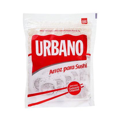 Arroz para Sushi - Urbano - 1kg