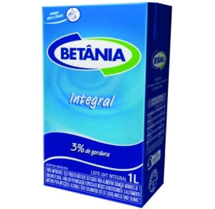 Leite UHT - Betânia - 1l