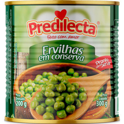 Ervilhas em Conserva - Predilecta - 300g