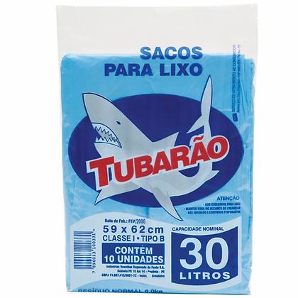 Sacos para Lixo 30l - Tubarão - 59cm x 62cm