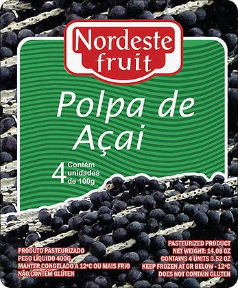 Polpa de Açaí - Nordeste Fruit - 400g