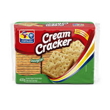 Biscoito Cream Cracker Integral - Fortaleza - 400g