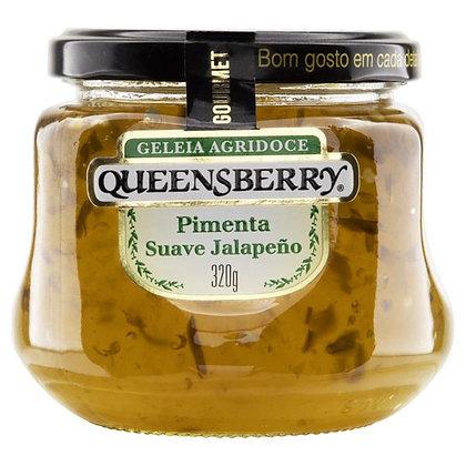 Geleia Agridoce Pimenta Suave Jalapeño - Queensberry - 320g