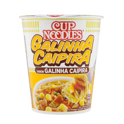 Cup Noodles - Galinha Caipira - Nissin - 69g
