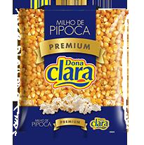 Milho de Pipoca Premium - Dona Clara - 500g
