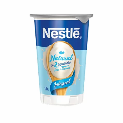 Iogurte Natural Integral - Nestlé - 170g