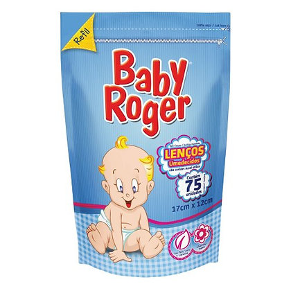 Lenços umedecidos - Baby Roger - 75 Unidades