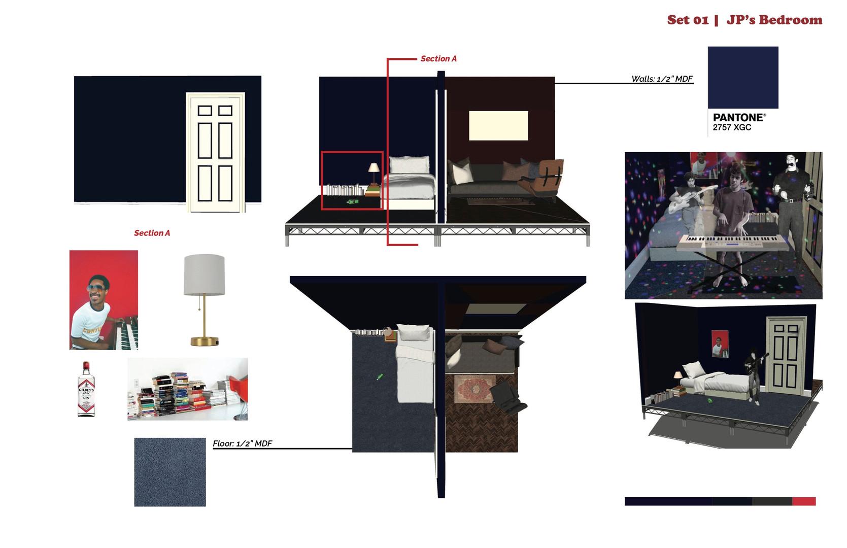 Bedroom set props
