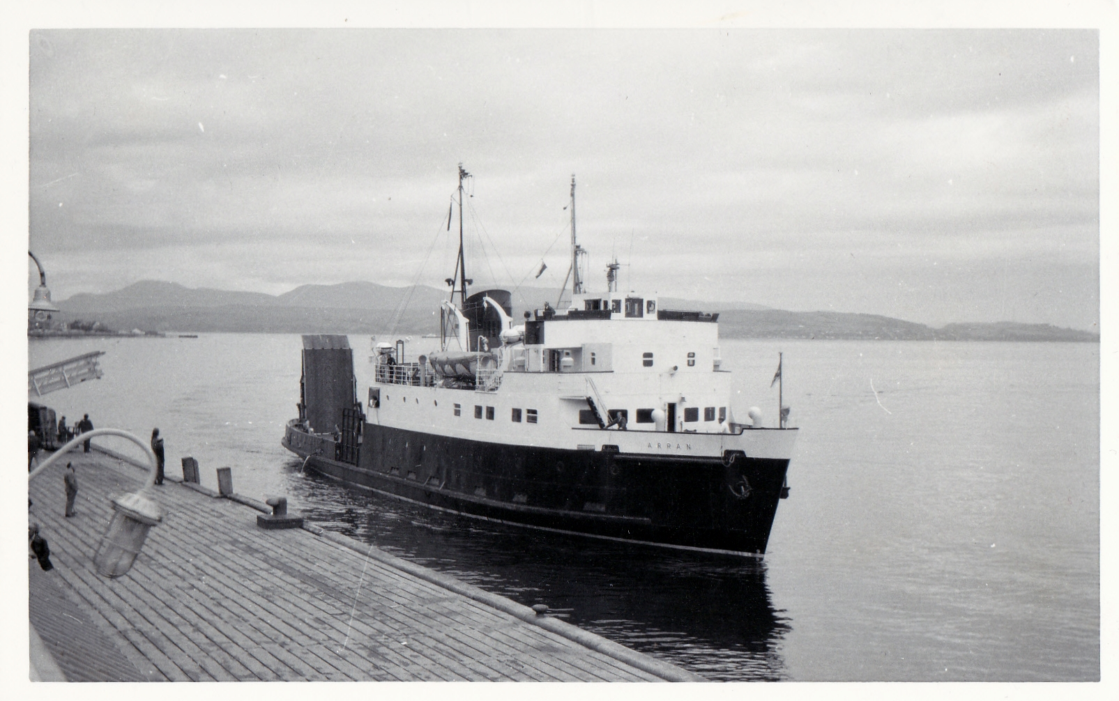 Arran approaching Dunoon (Jim Aikman Smith)