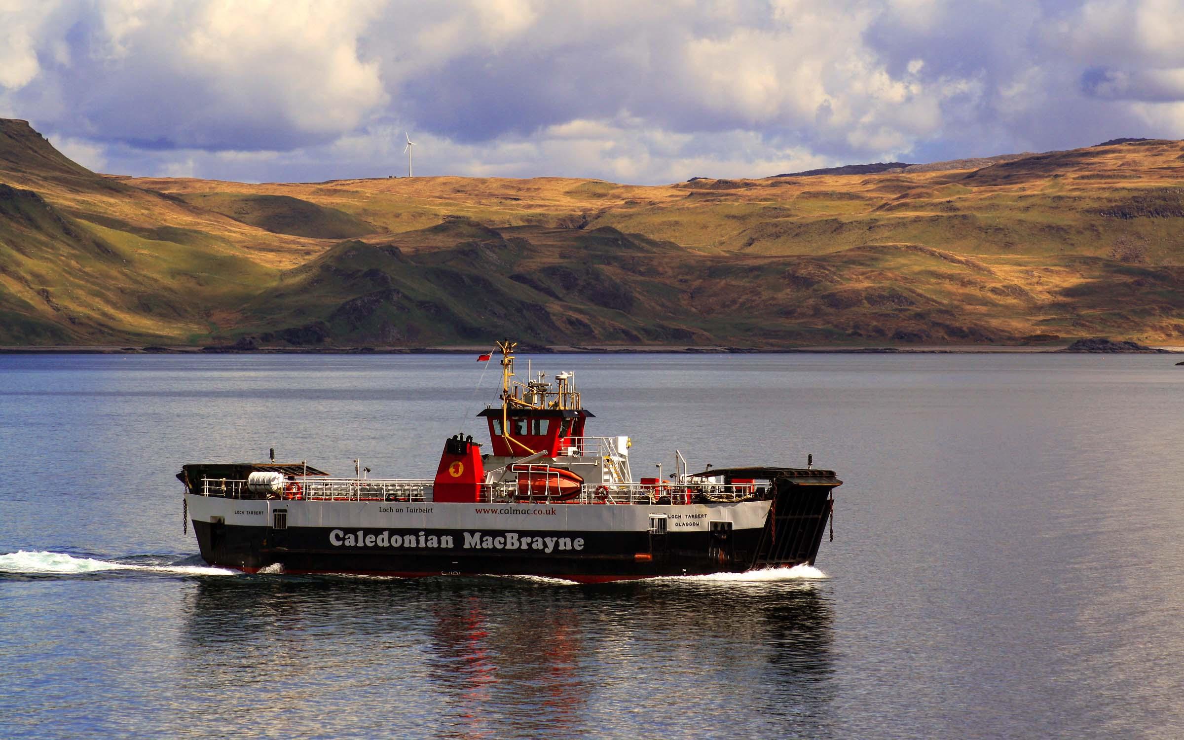 Loch Tarbert in the Sound of Mull (Ships of CalMac)