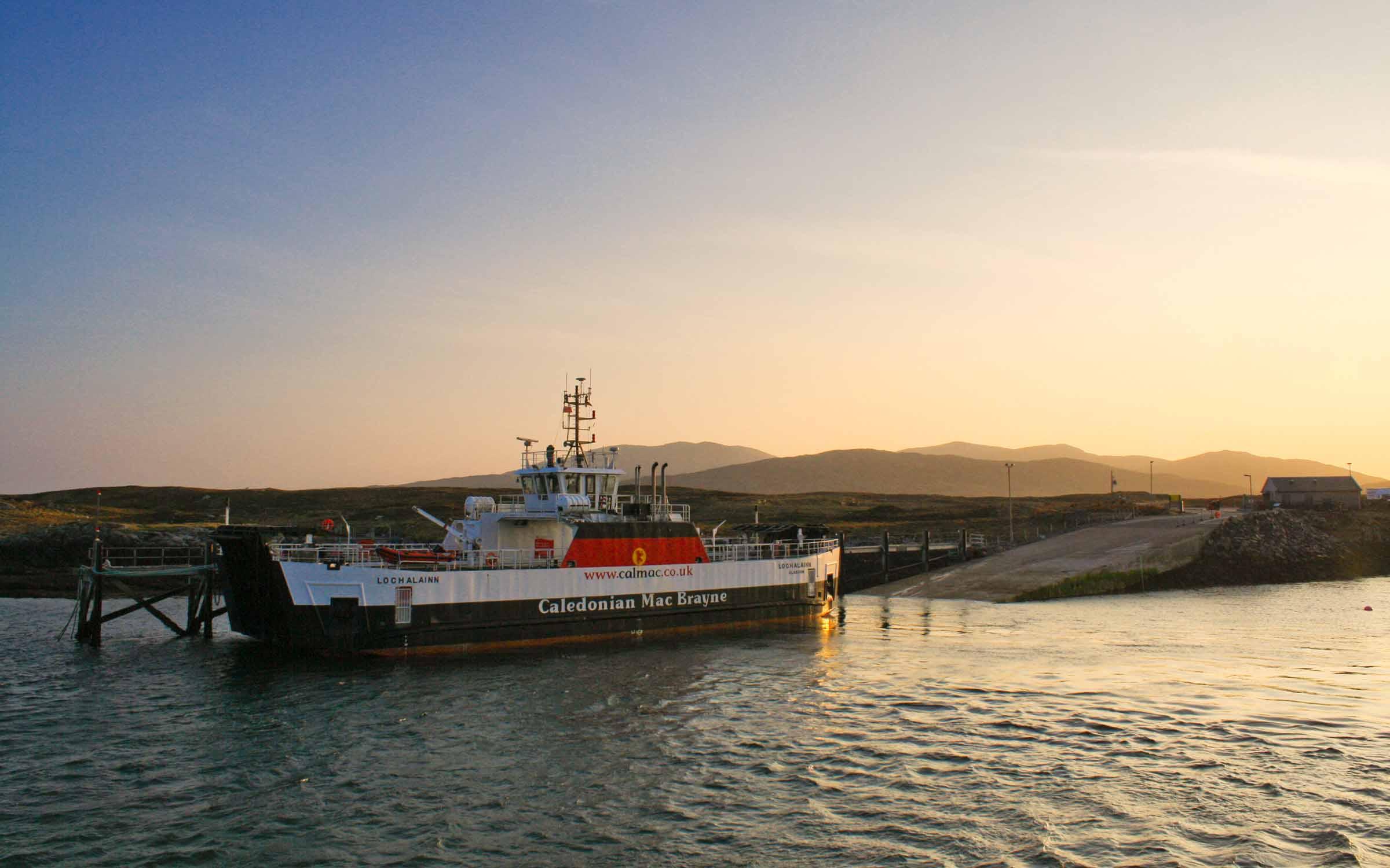 Loch Alainn at Ardmhor (Ships of CalMac)