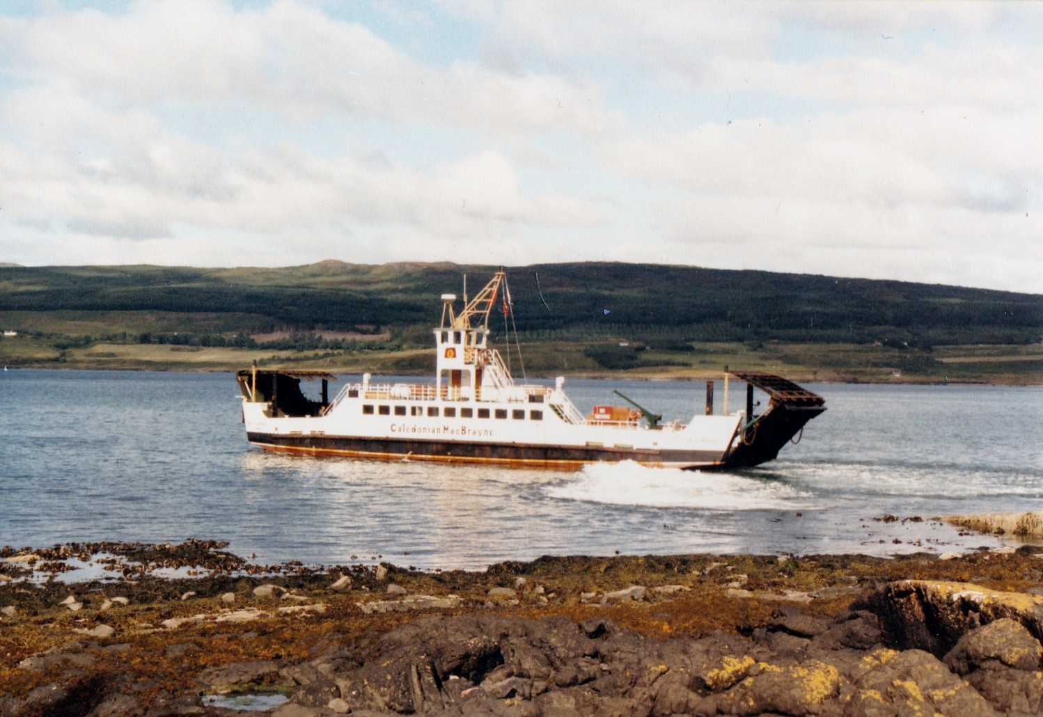 Isle of Cumbrae leaving Fishnish (Jim Aikman Smith)