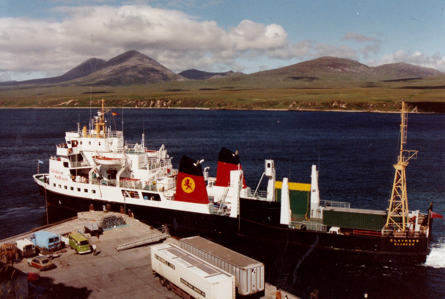Claymore at Port Askaig (Jim Aikman Smith)
