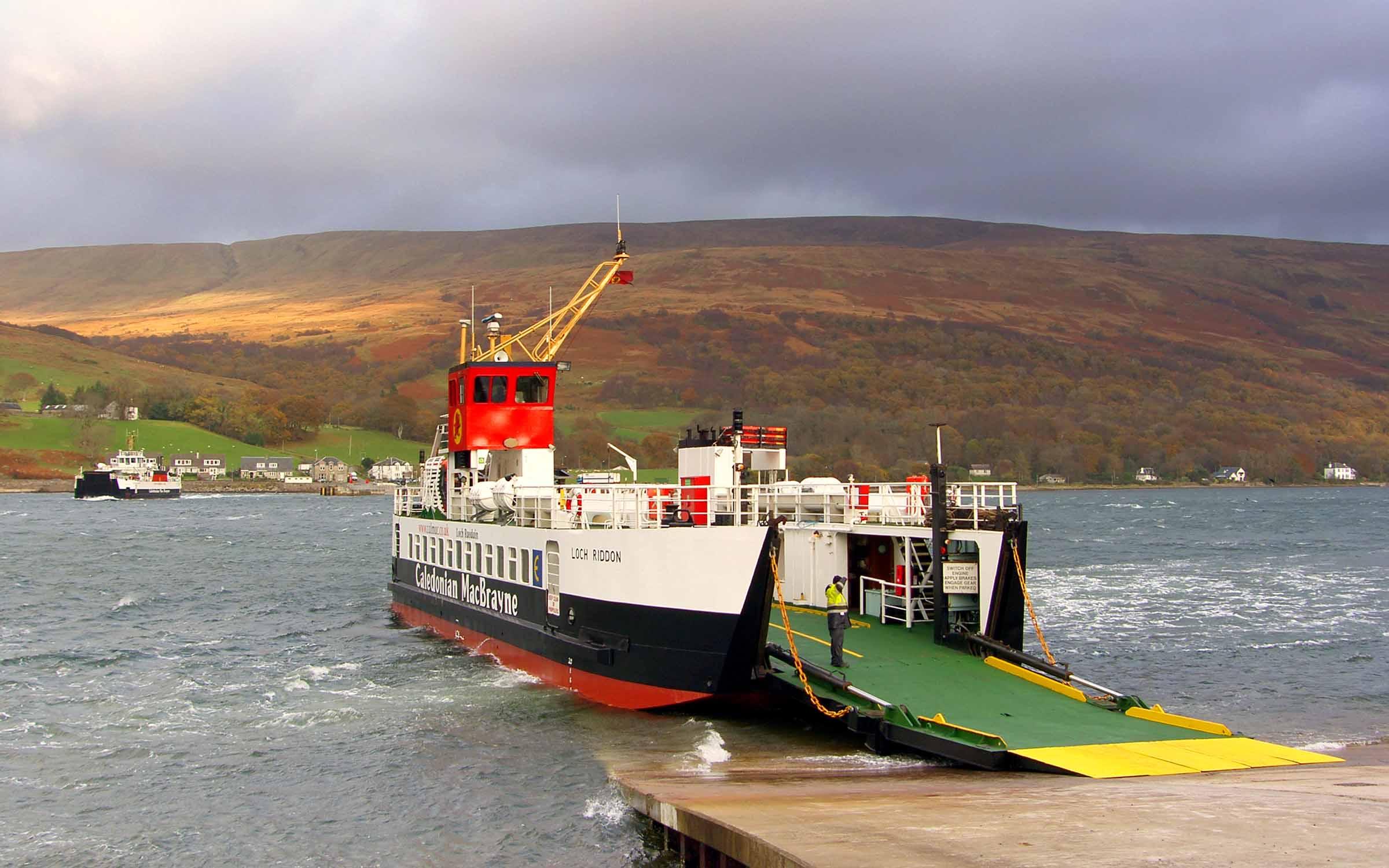 Loch Riddon at Rhubodach (Ships of CalMac)