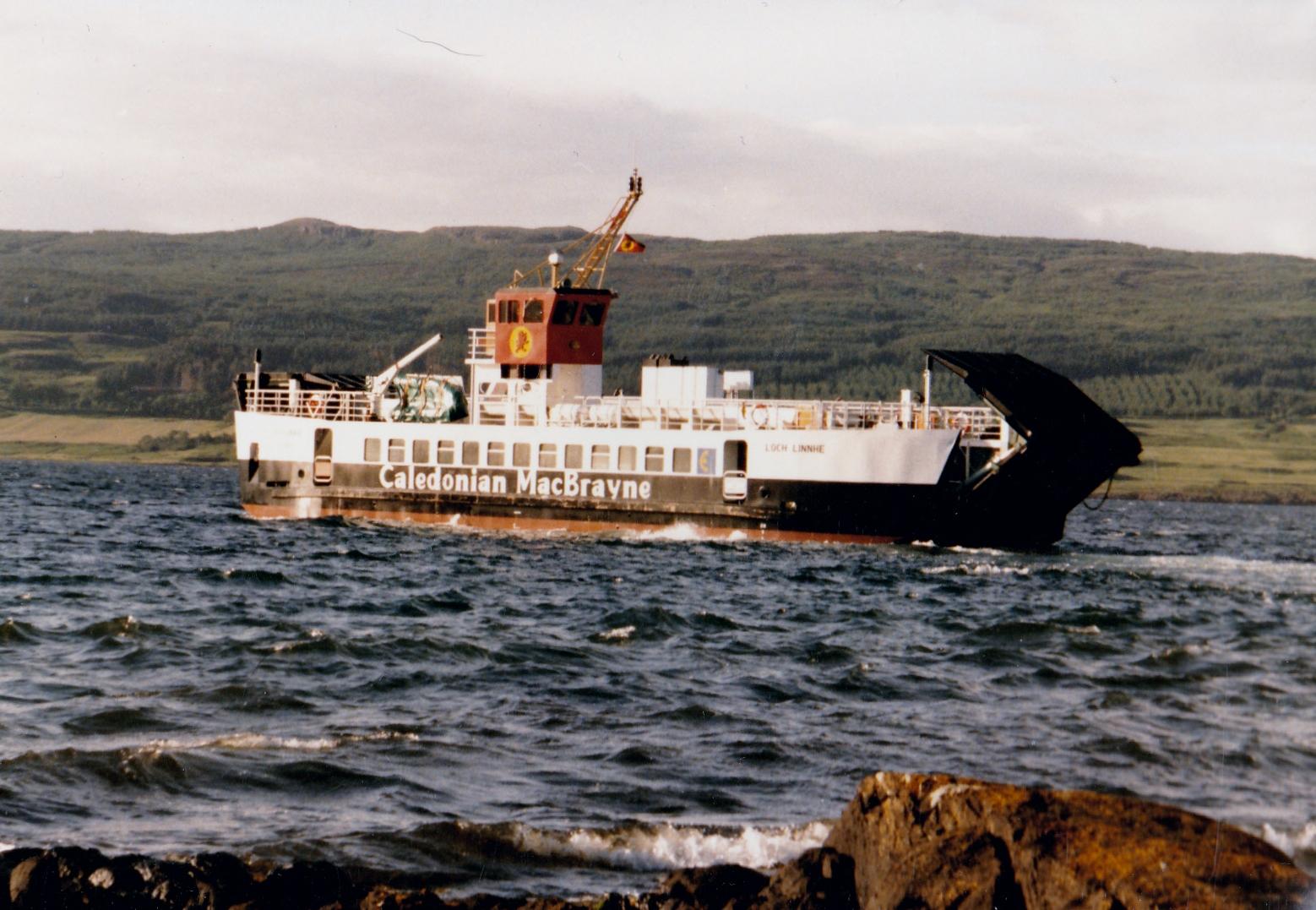 Loch Linnhe leaving Fishnish (Jim Aikman Smith)