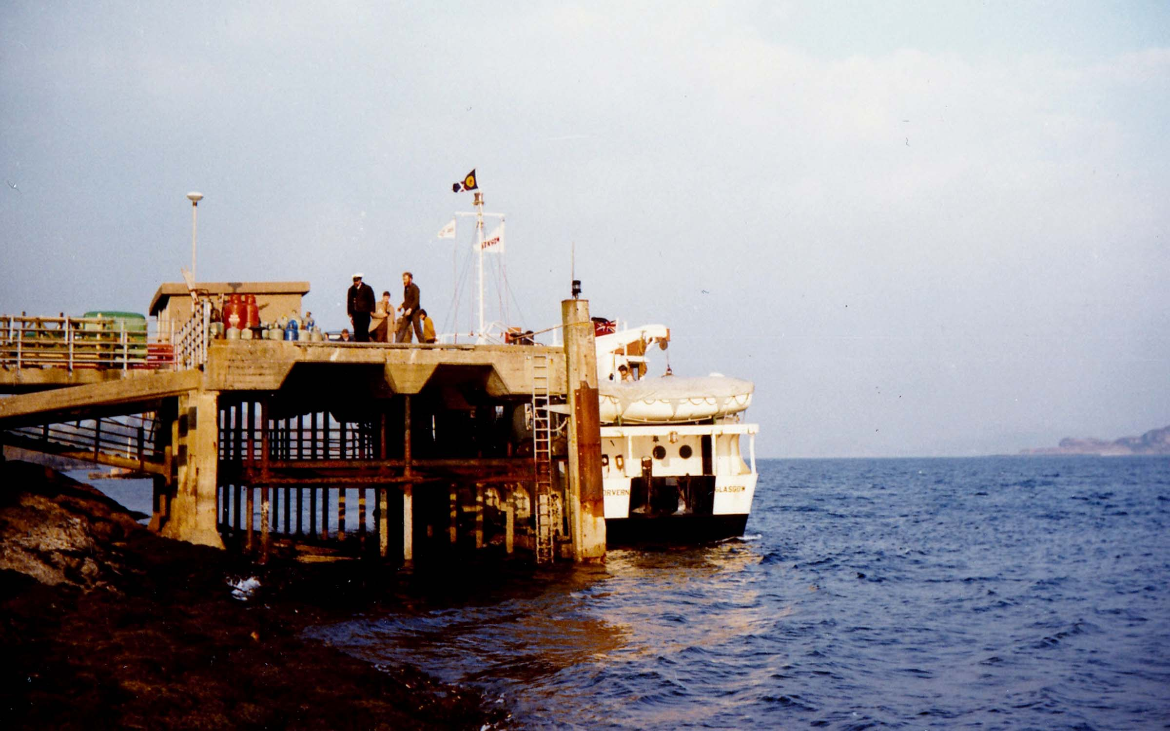 Morvern at Lismore pier (Jim Aikman Smith)