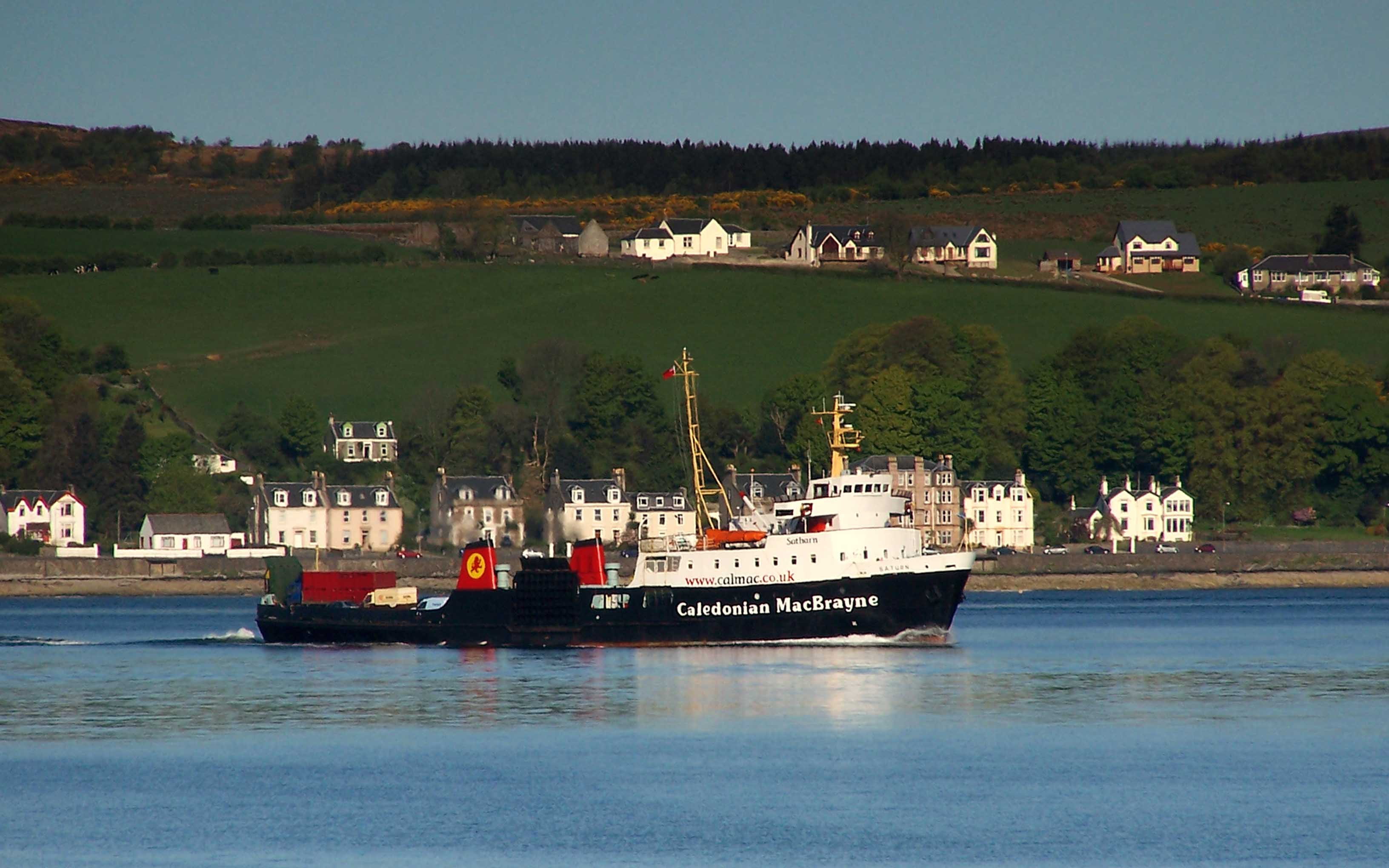 Saturn in Rothesay Bay (Ships of CalMac)