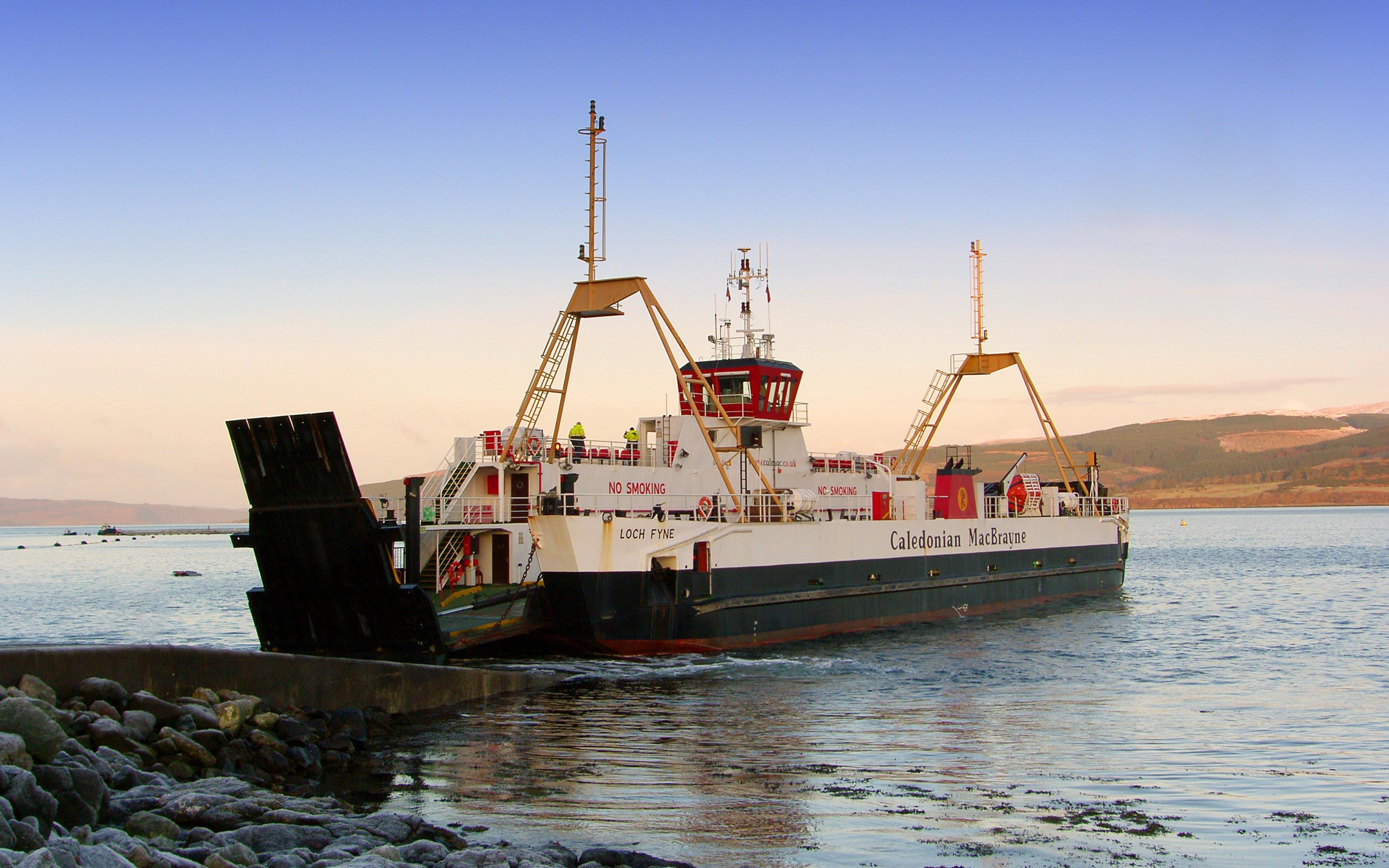 Loch Fyne at Fishnish (Ships of CalMac)