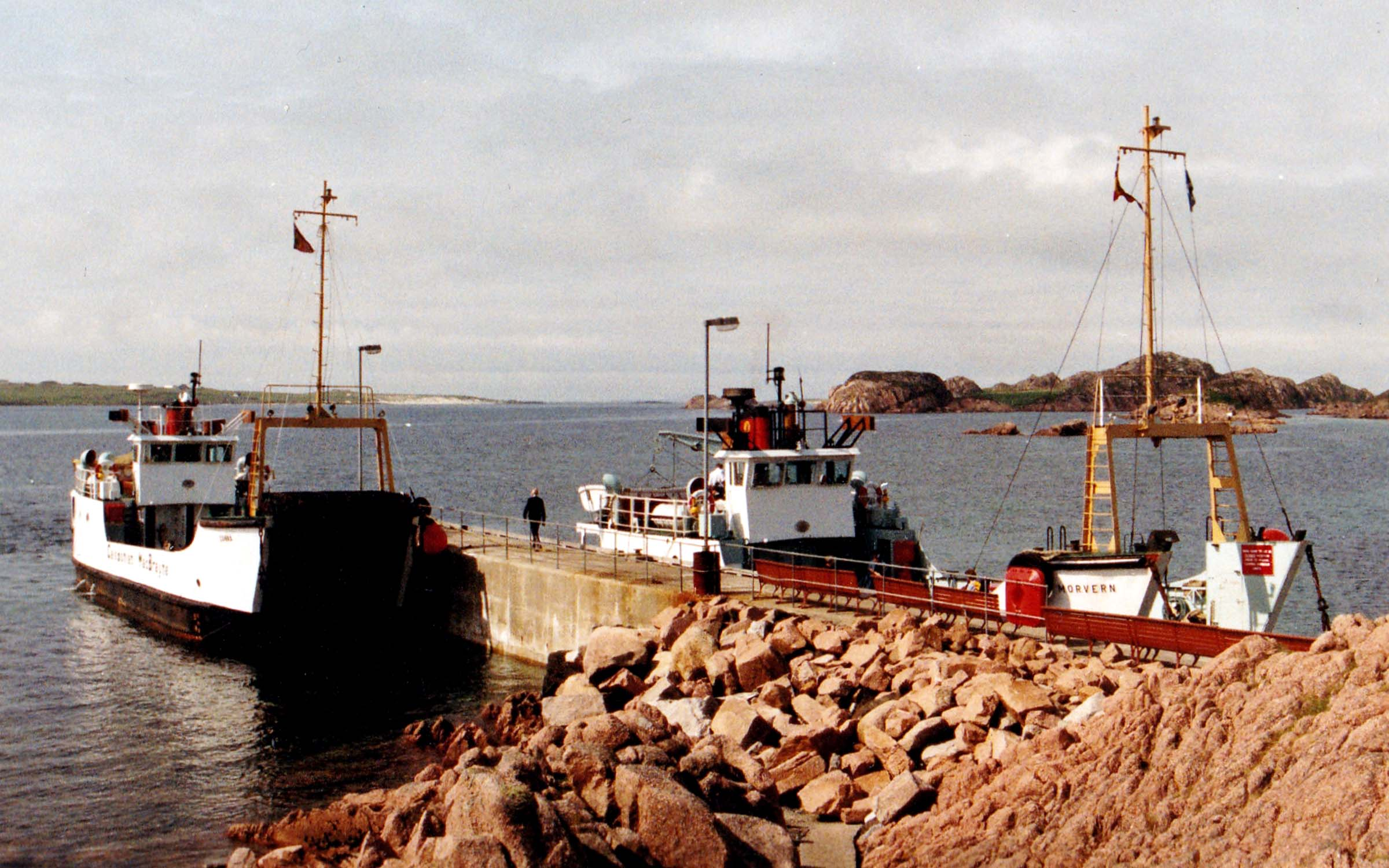 Morvern and Canna at Fionnphort (Jim Aikman Smith)
