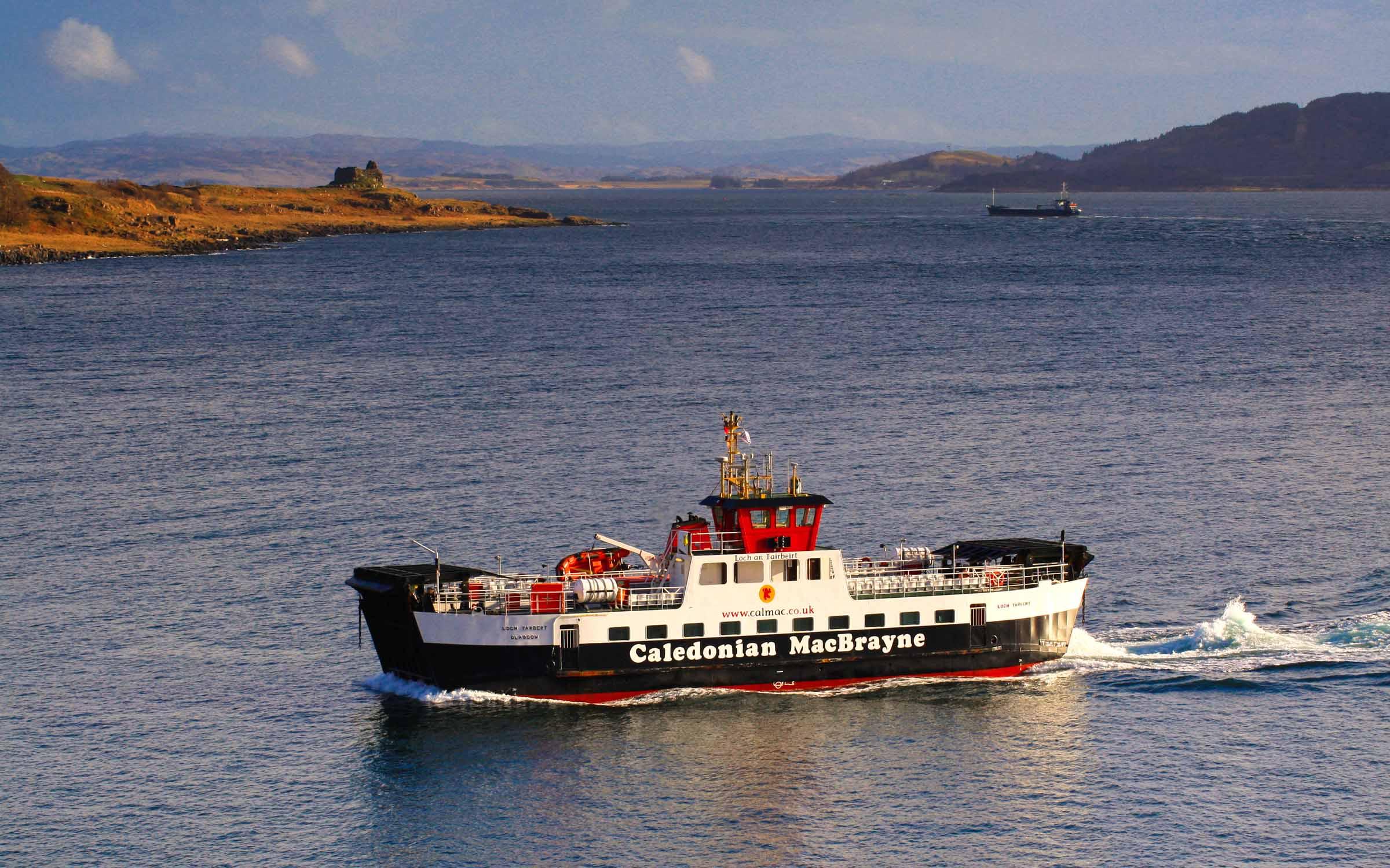 Loch Tarbert crossing from Fishnish to Lochaline (Ships of CalMac)