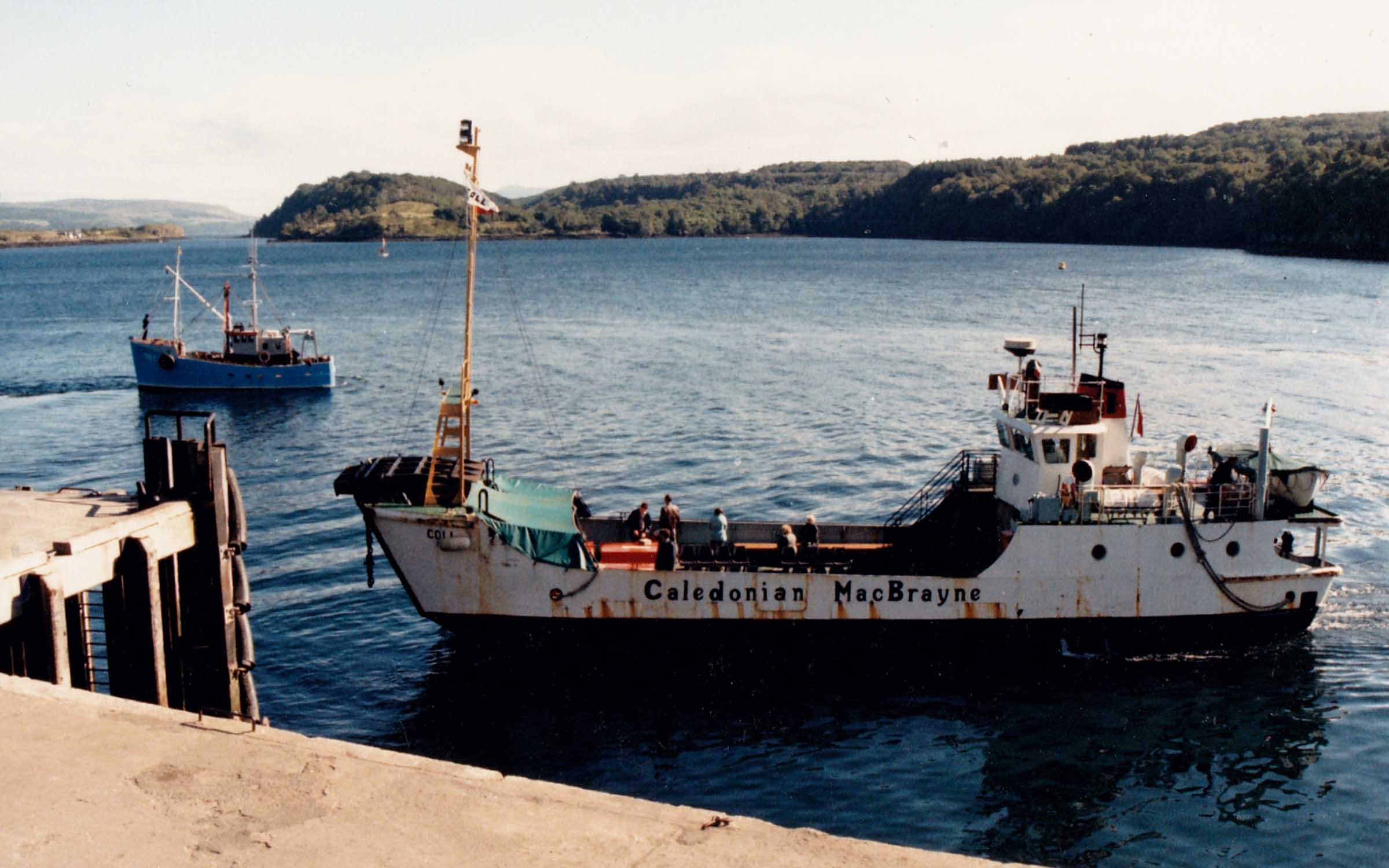 Coll as a passenger ferry at Tobermory (Jim Aikman Smith)