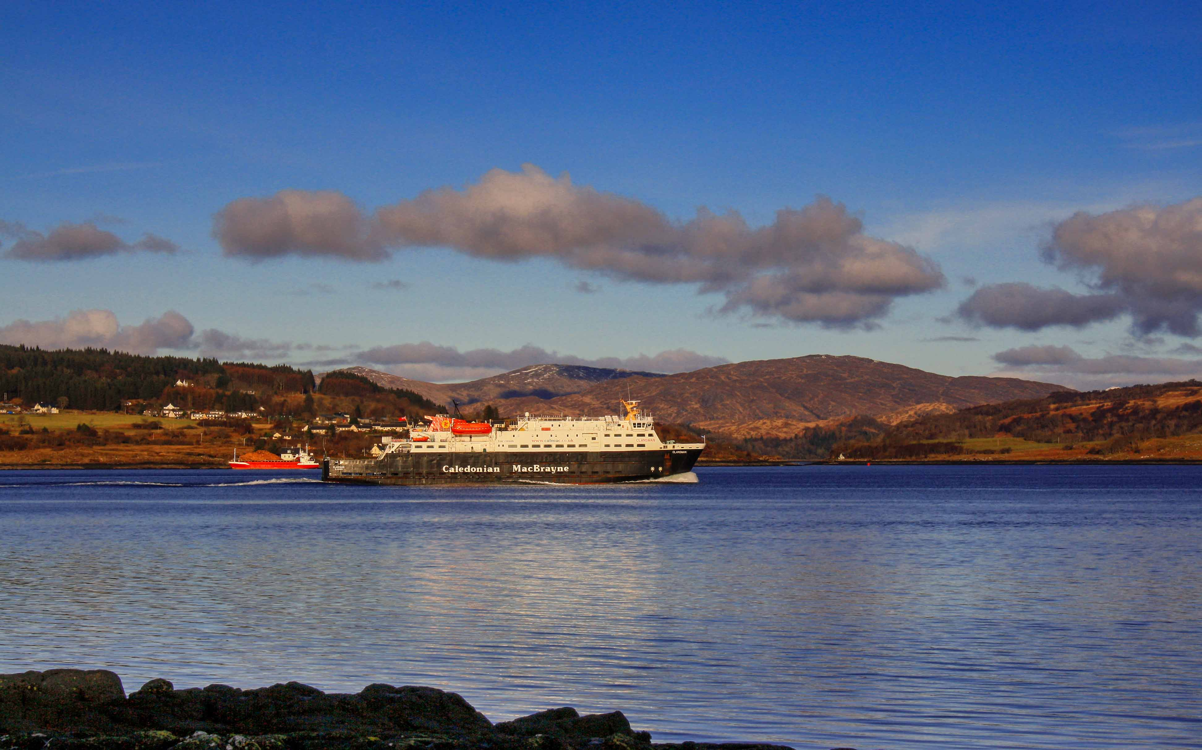 Clansman in the Sound of Mull (Ships of CalMac)