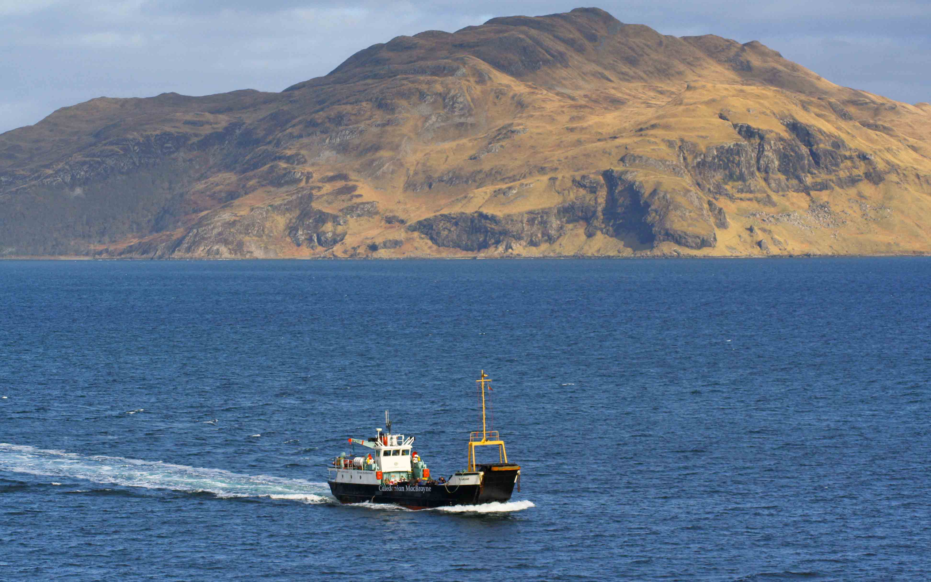 Raasay crossing from Kilchoan to Tobermory (Ships of CalMac)