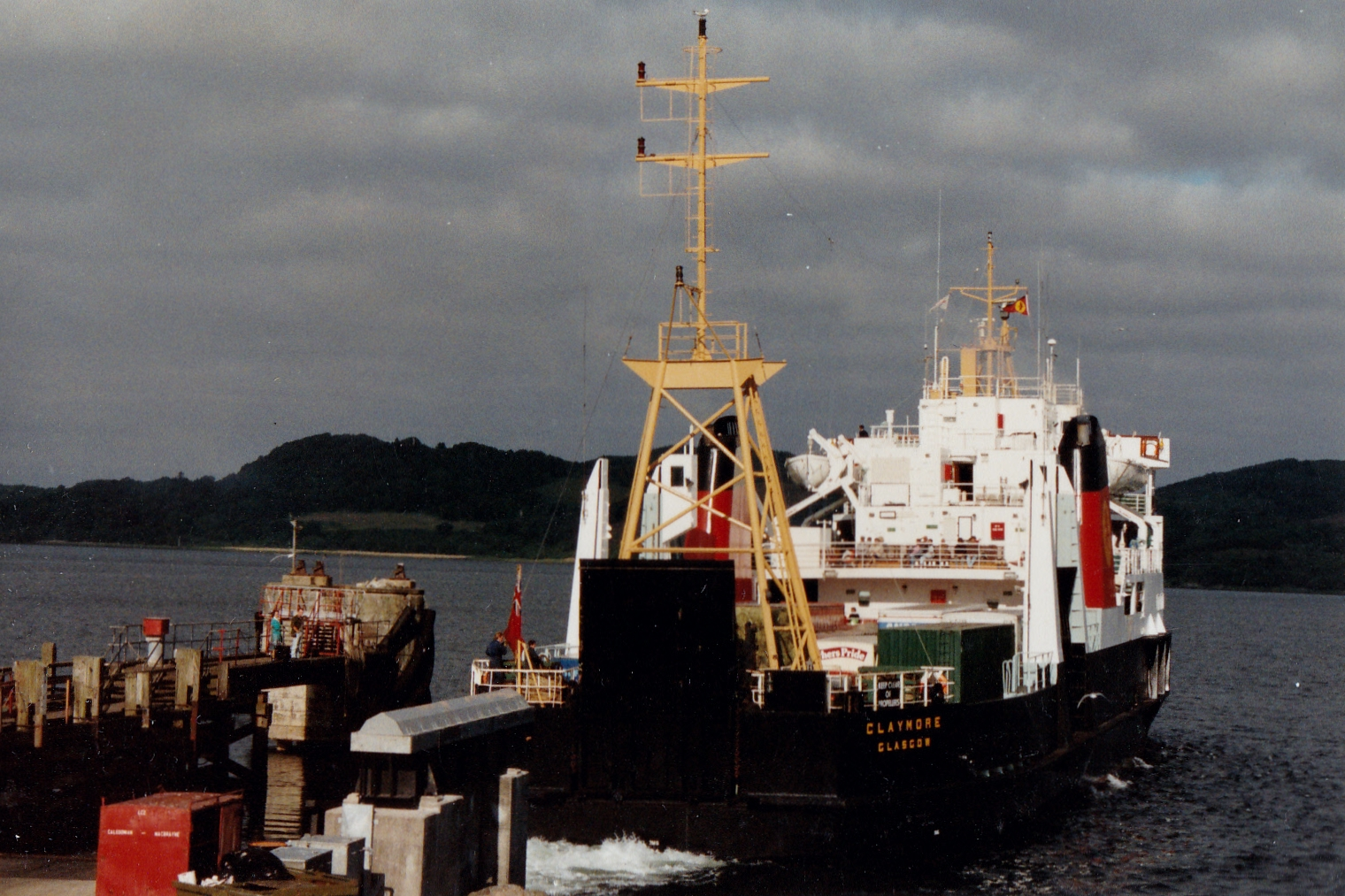 Claymore leaving Kennacraig (Jim Aikman Smith)