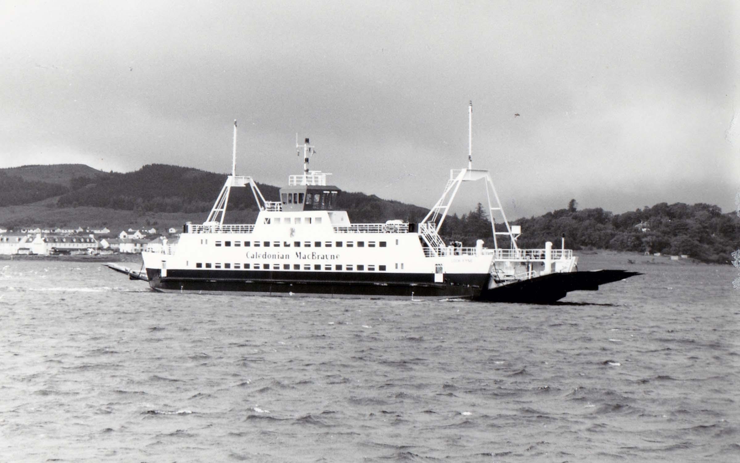 Loch Fyne crossing from Skye to Kyle of Lochalsh (Jim Aikman Smith)