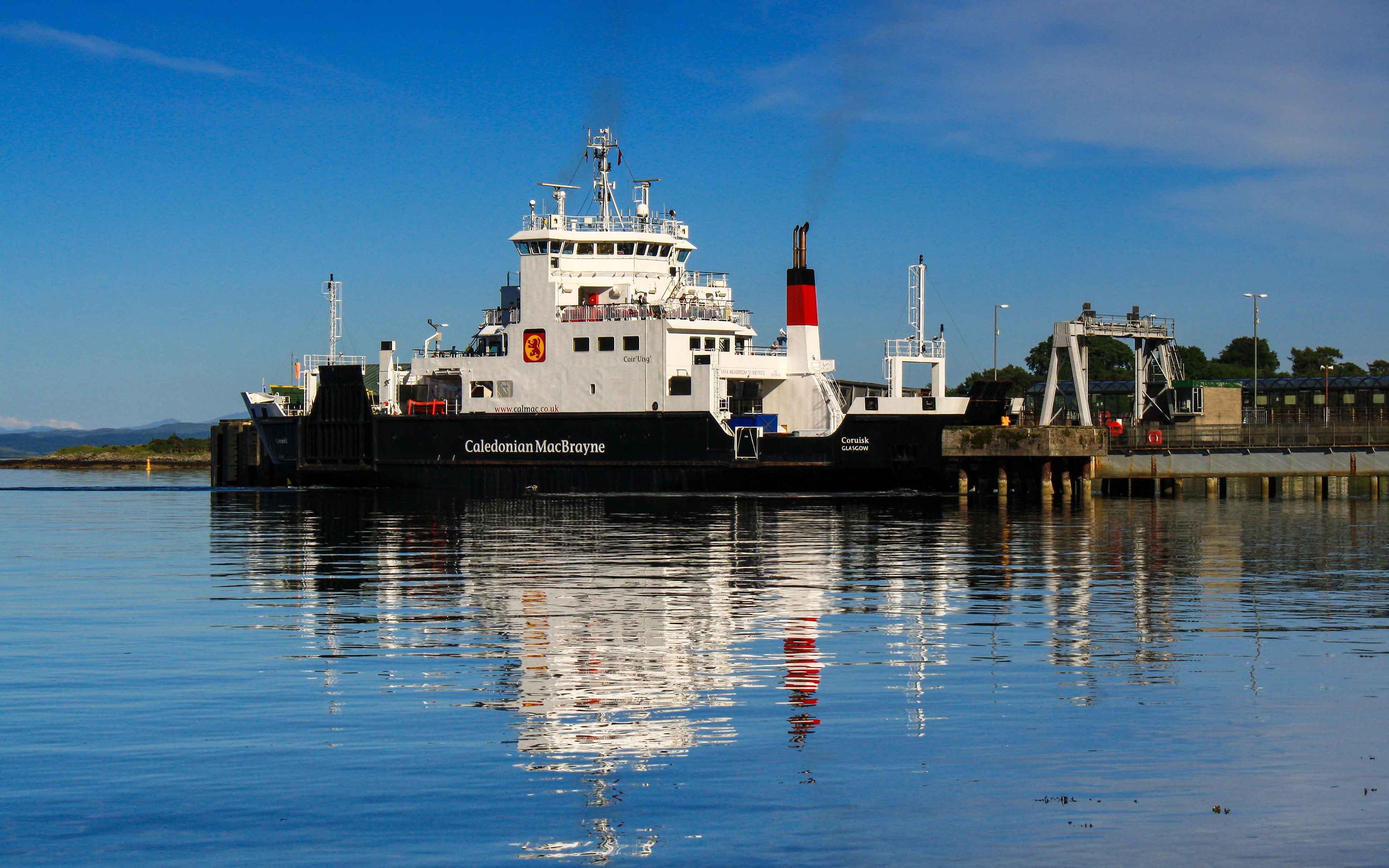 Coruisk at Craignure (Ships of CalMac)