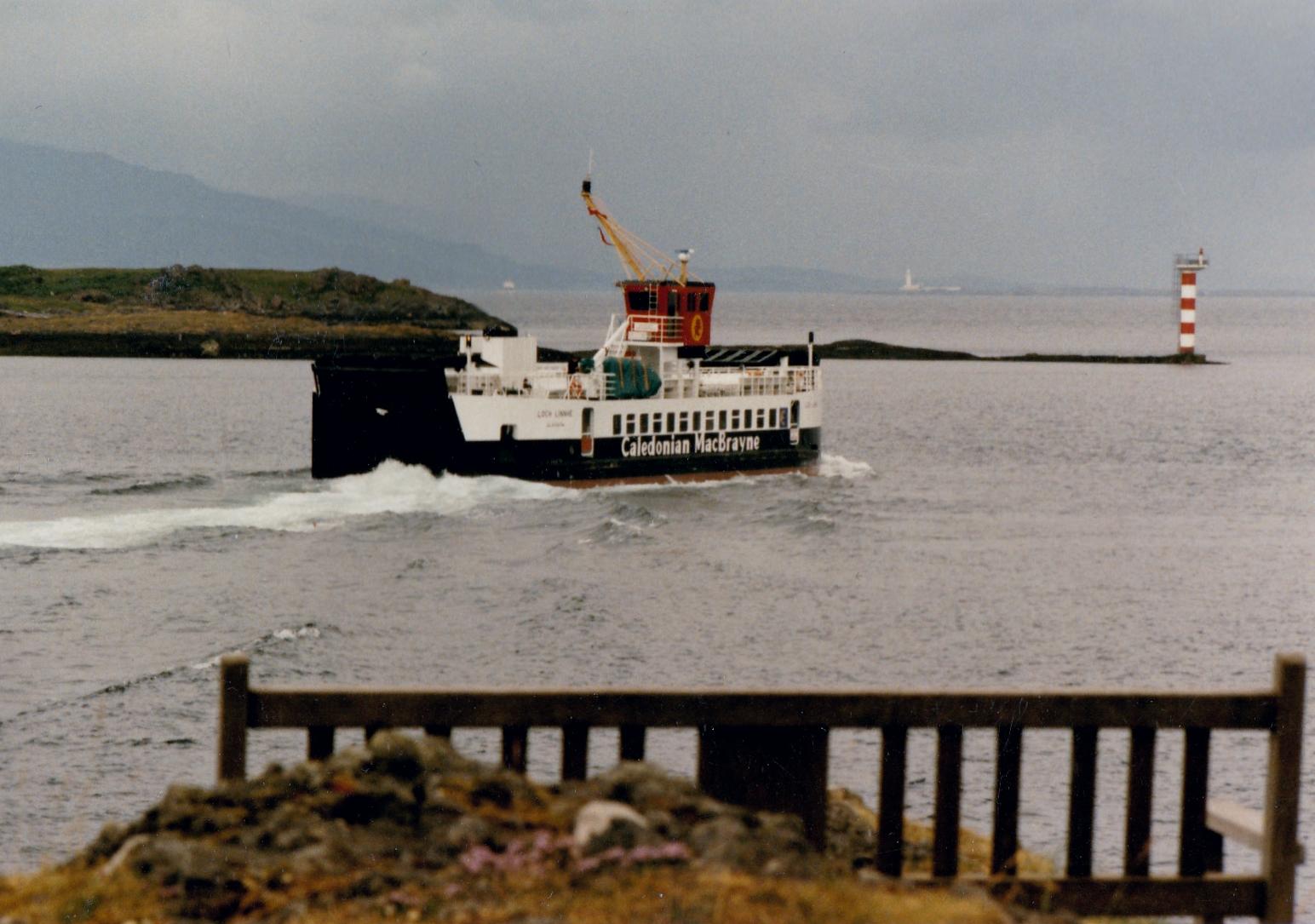 Loch Linnhe leaving Oban bound for Lochaline (Jim Aikman Smith)