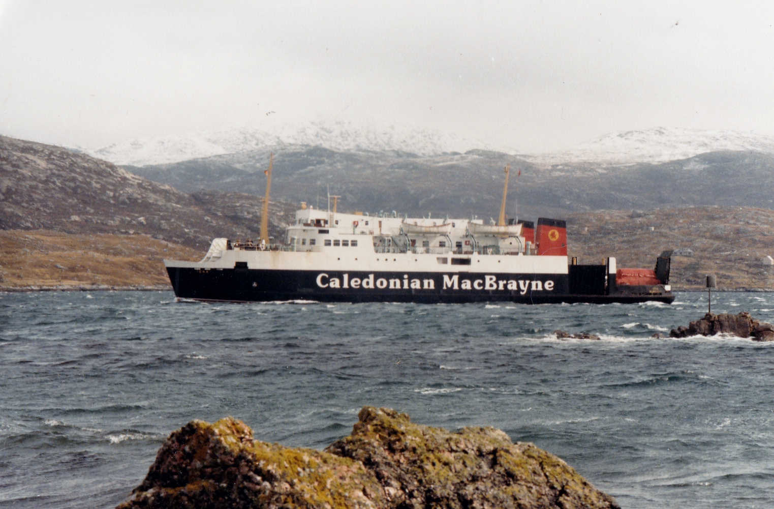 Iona approaching Tarbert (Jim Aikman Smith)