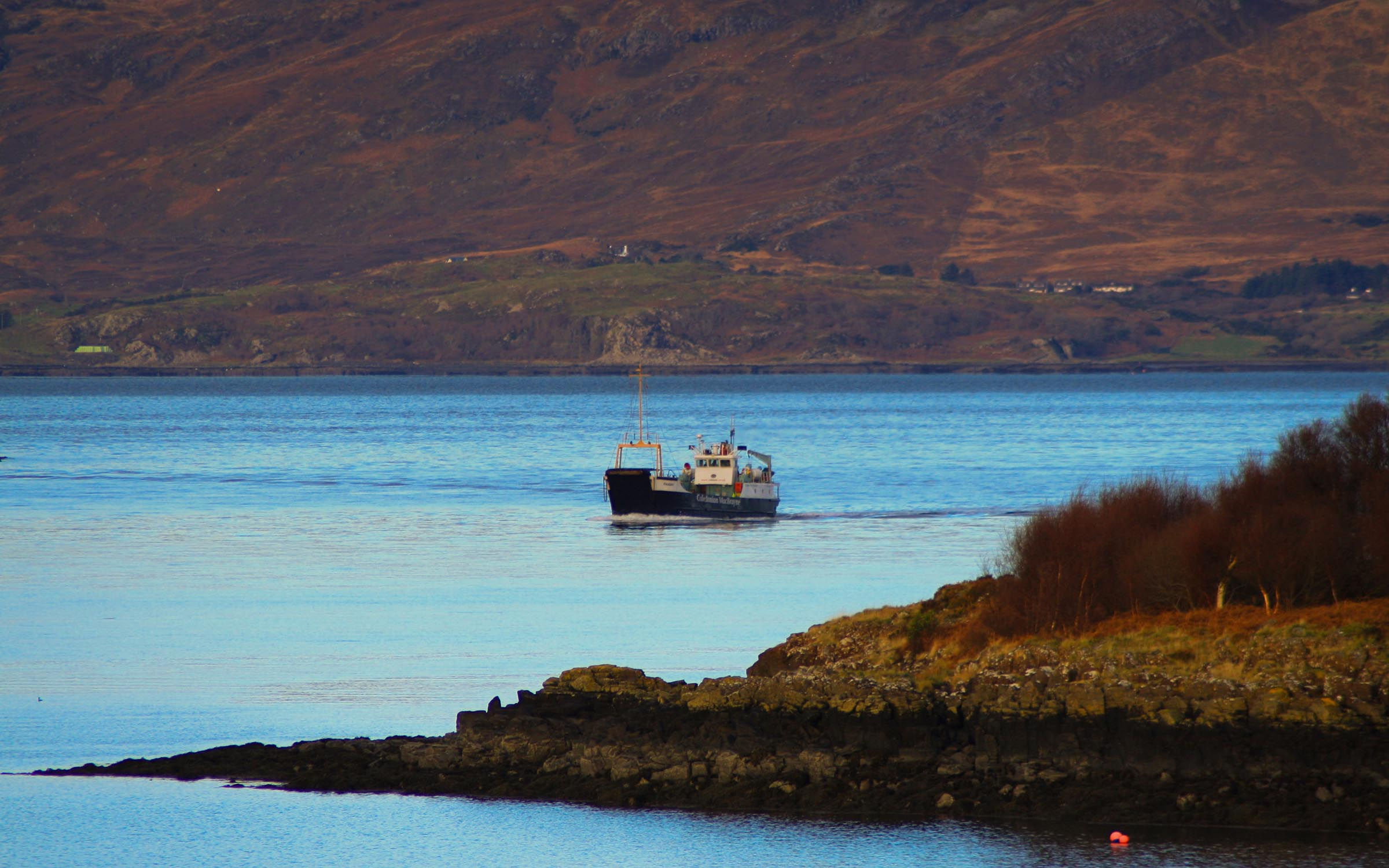Raasay crossing from Kilchoan to Tobemory (Ships of CalMac)