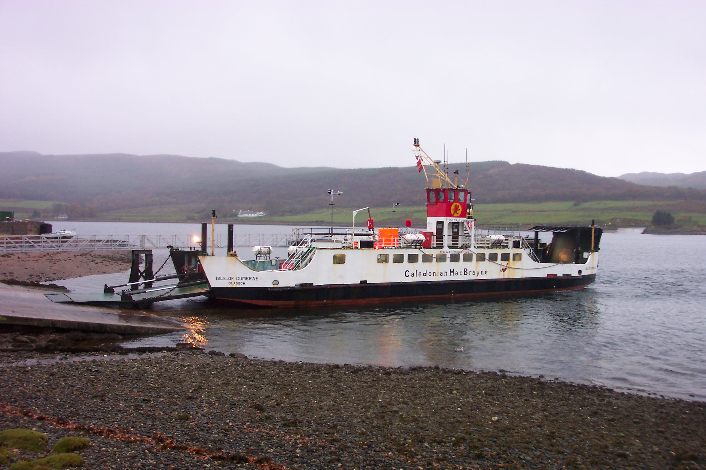 Isle of Cumbrae at Colintraive (Ships of CalMac)