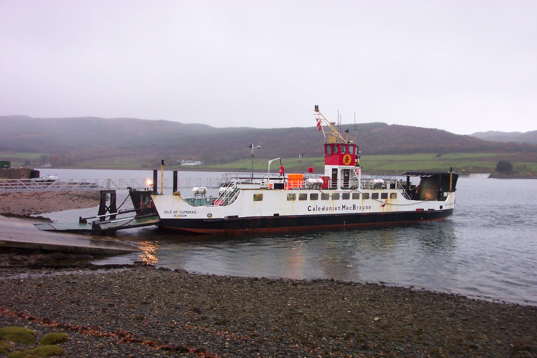 Isle of Cumbrae at Colintraive (Ships of CalMac)