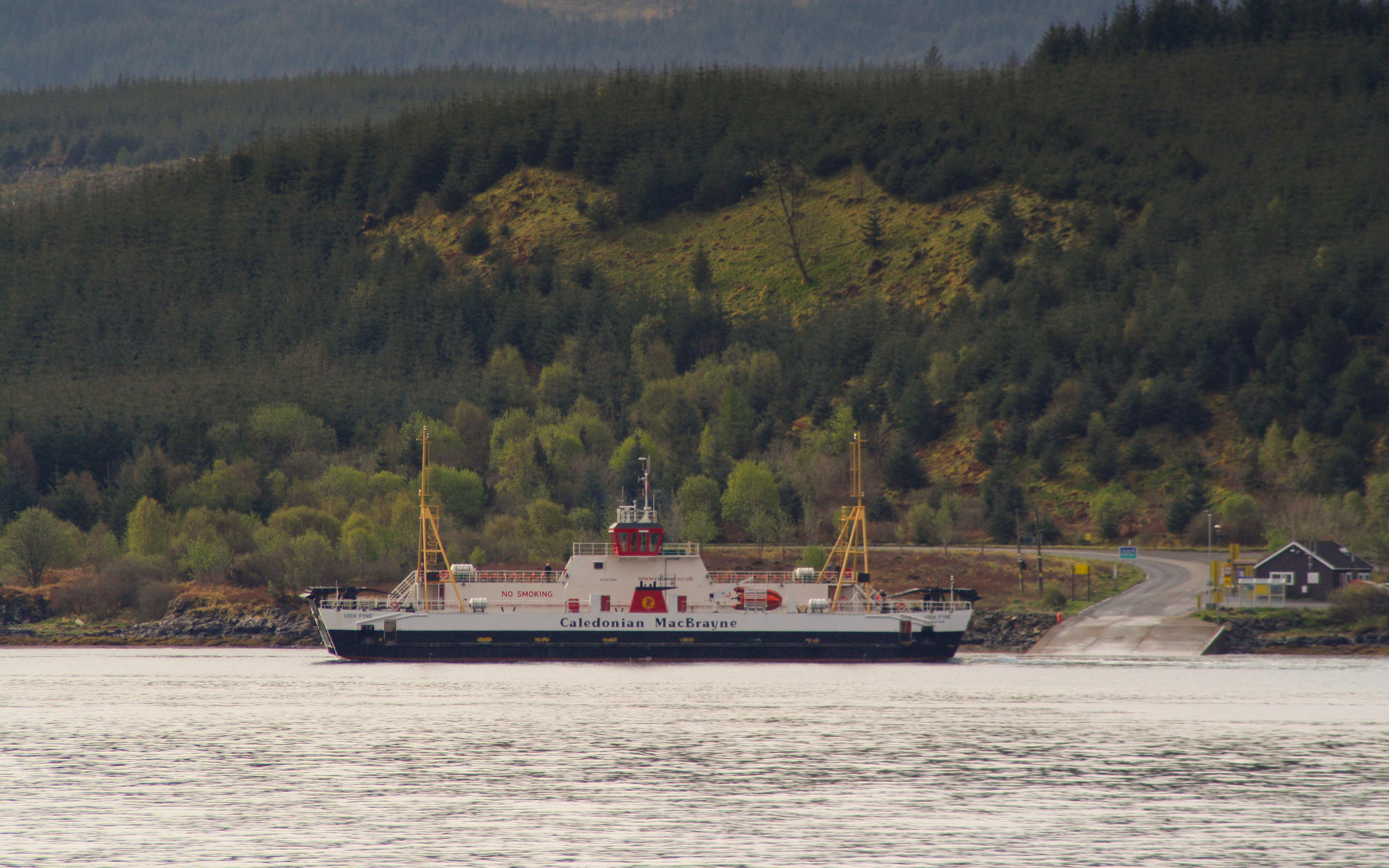 Loch Fyne leaving Fishnish (Ships of CalMac)