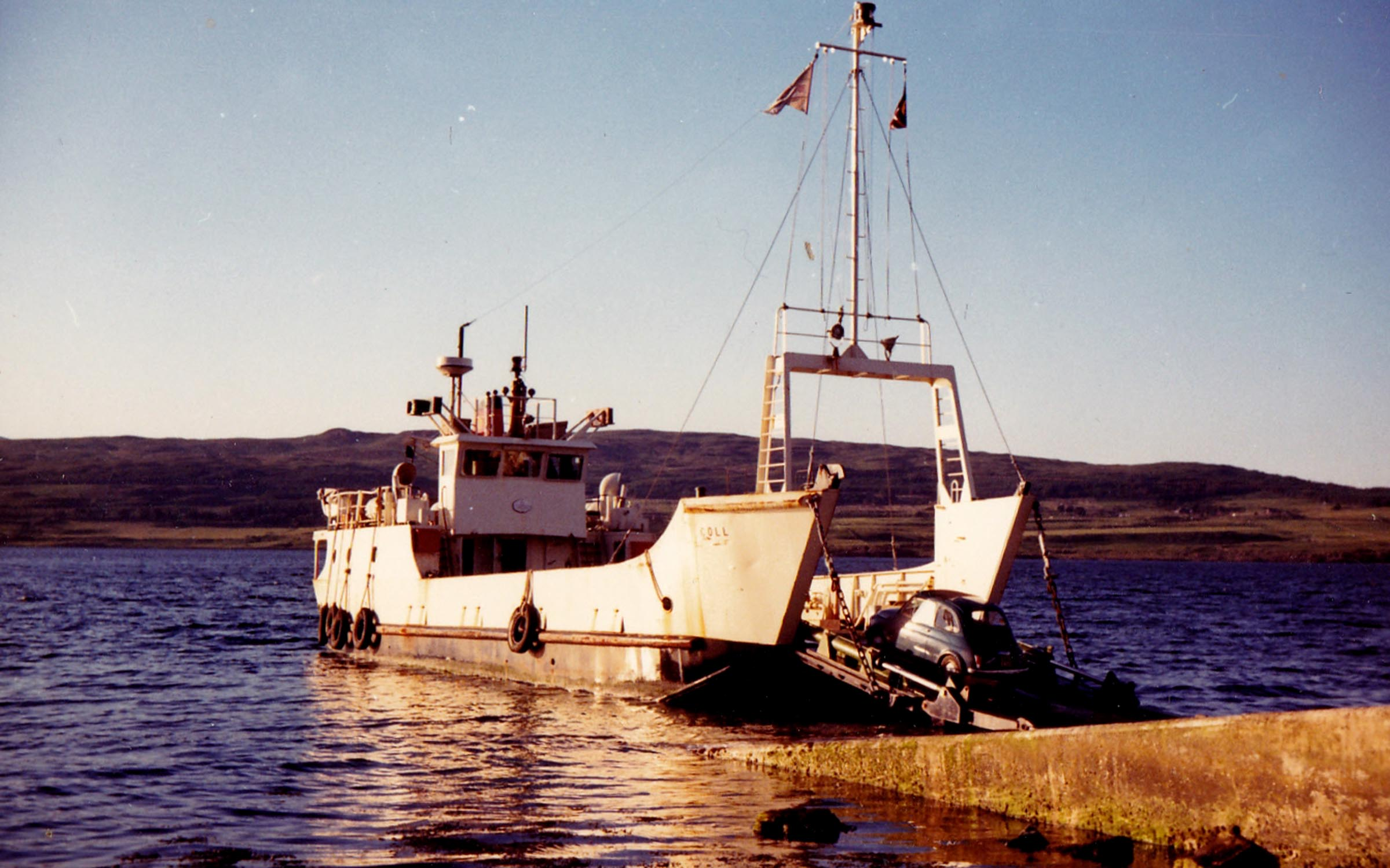 Coll loading at Fishnish (Jim Aikman Smith)