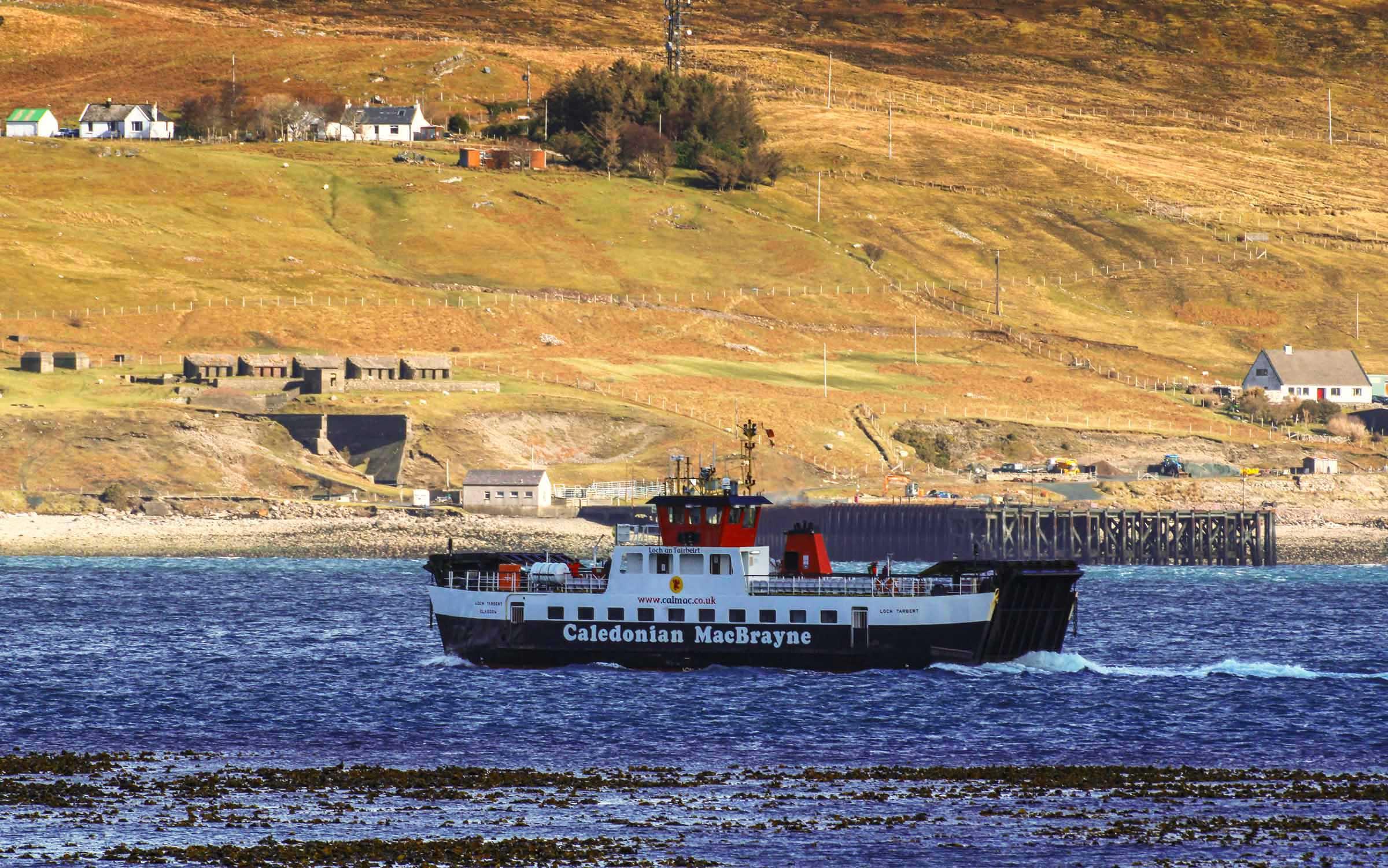 Loch Tarbert crossing to Raasay (Ships of CalMac)