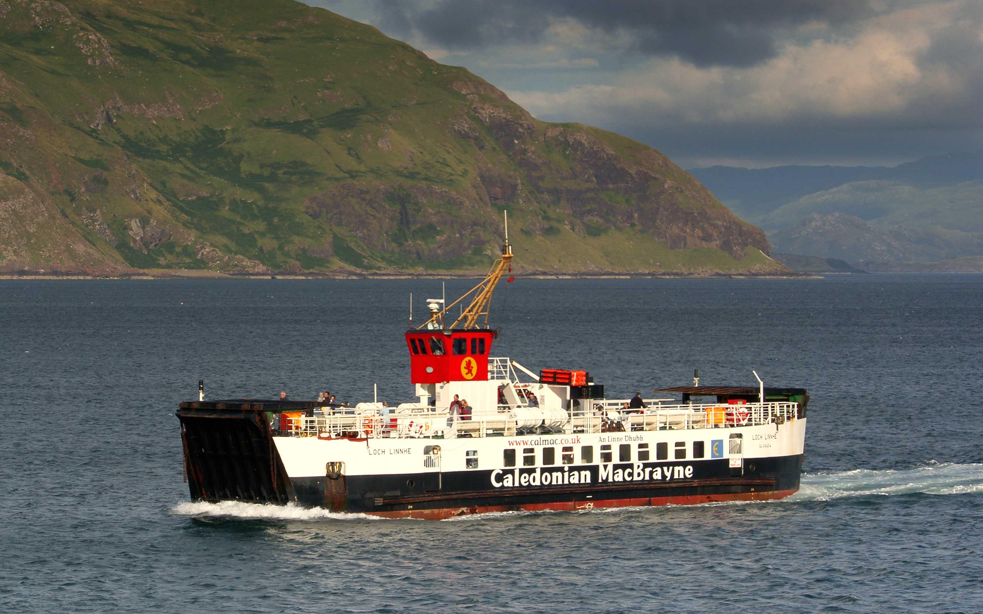 Loch Linnhe crossing to Kilchoan (Ships of CalMac)