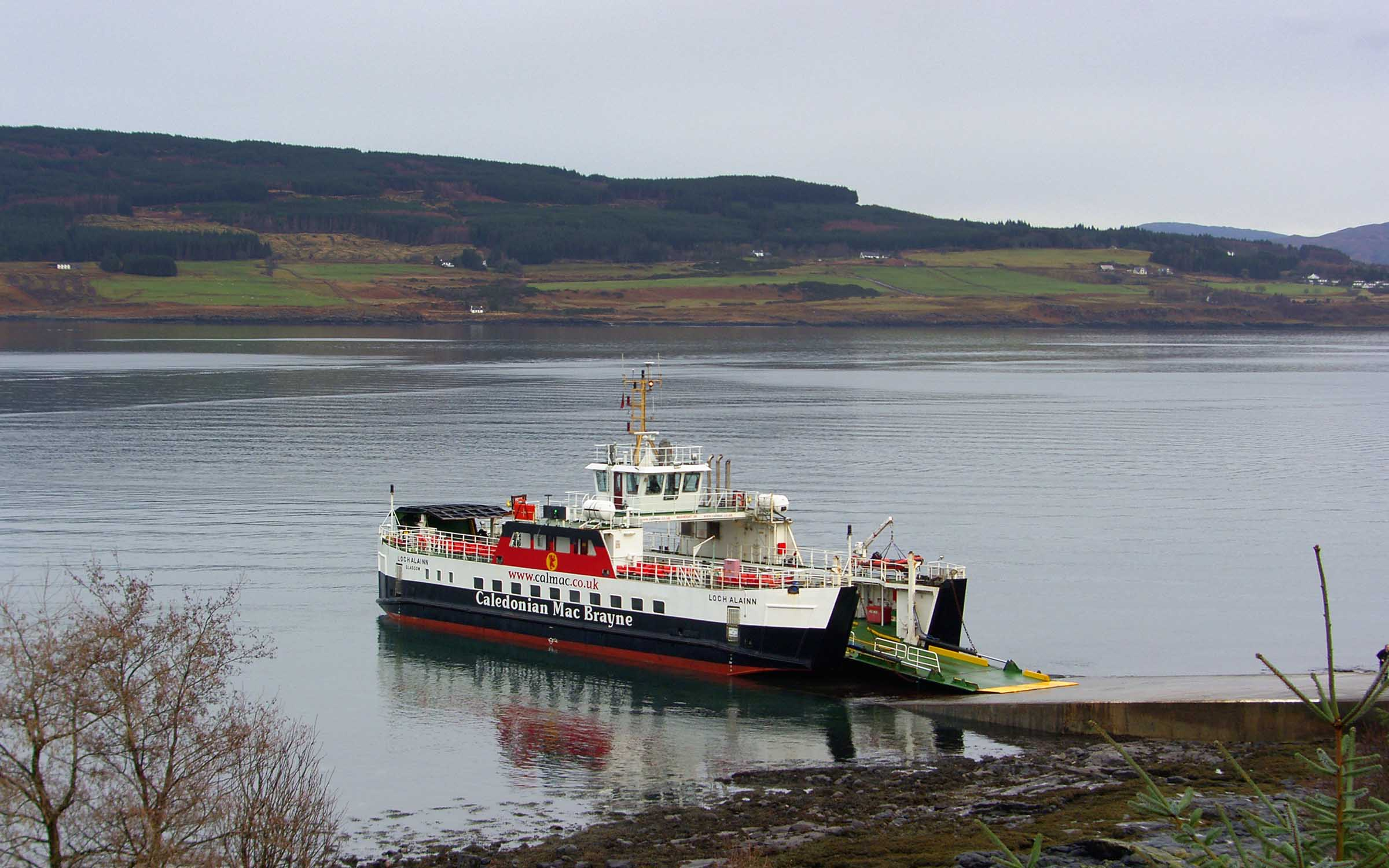 Loch Alainn at Fishnish (Ships of CalMac)