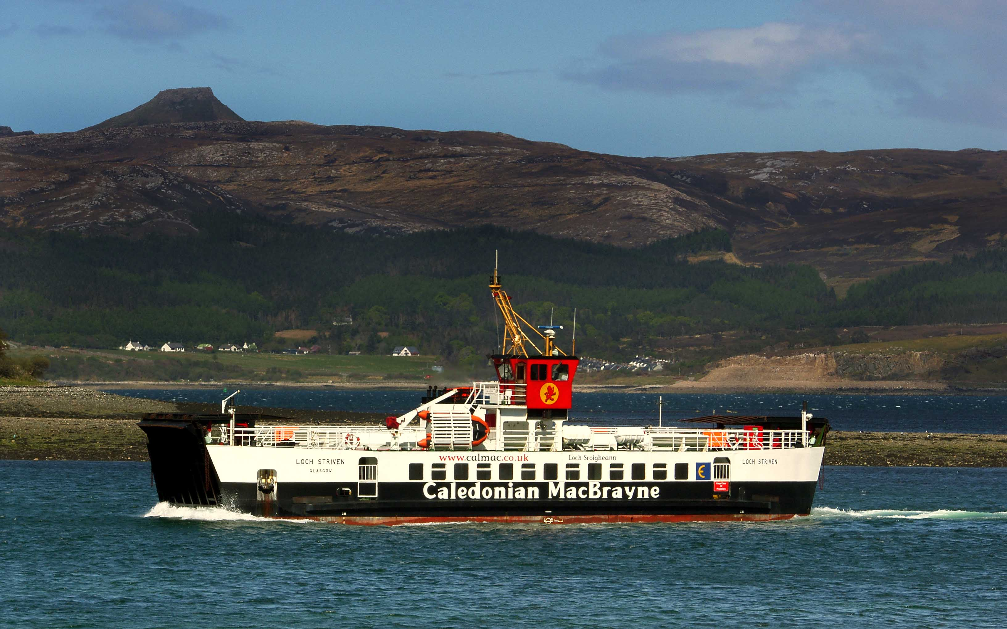 Loch Striven approaching Sconser (Ships of CalMac)