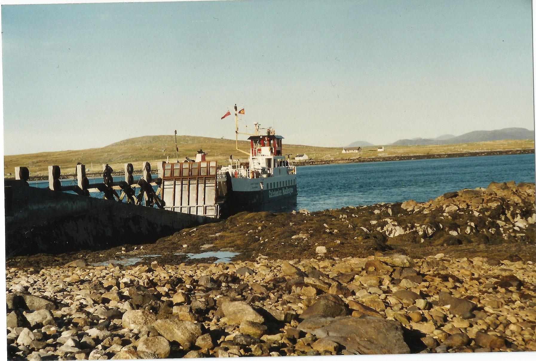 Loch Tarbert relieving at Otternish (Iain McPherson)